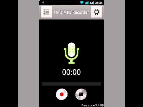 Hi-Q-MP3-Recorder app for Android