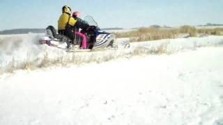Polaris Frontier Edge 2 up Sled Snowmobile