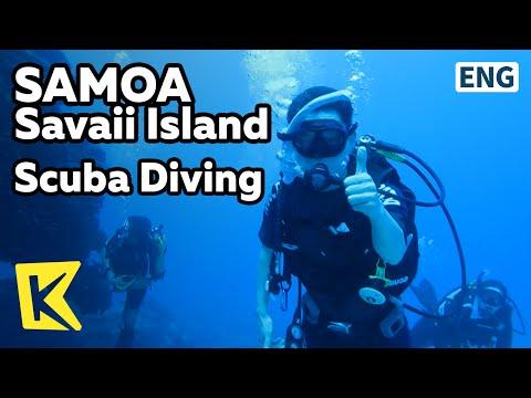 【K】Samoa Travel-Savaii Island[사모아 여행-사바이]남태평양 스쿠버다이빙/Scuba Diving/South Pacific
