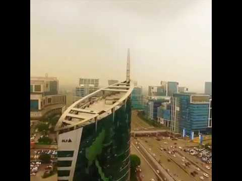 Gurgaon Drone View - Awesome, Fantastics