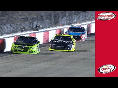 Exhilarating Moments: Keselowski passes Busch