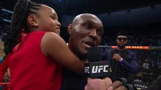 "UFC 261: Kamaru Usman Octagon Interview | ""Y'all Said You Wanted Violence"""