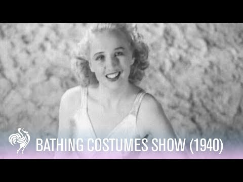 Beautiful Bathing Costumes Show (1940) | Vintage Fashions from YouTube · Duration:  1 minutes 17 seconds