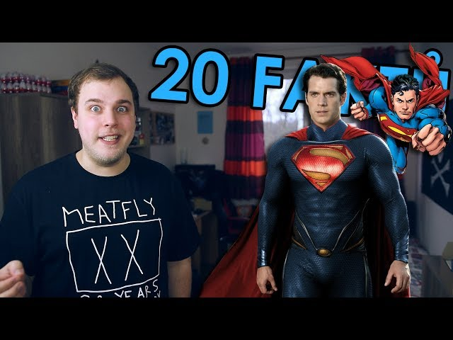 20 FAKTŮ - Superman