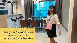 Review Căn Hộ 3 Phòng Ngủ 117,7m2 (Căn B) - Chung Cư The Legacy - 106 Ngụy Như Kon Tum