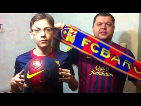 Кричалка в поддержку ФК Барселона