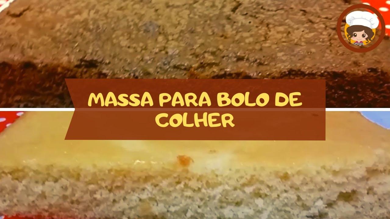 Massa Simples E Fácil Para Bolo De Pote Chocolate E Baunilha Mil