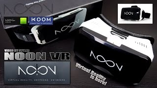 NOON VR Headset (Review) Best Samsung Gear VR alternative? / Virtual Reality from Nextcore Corp