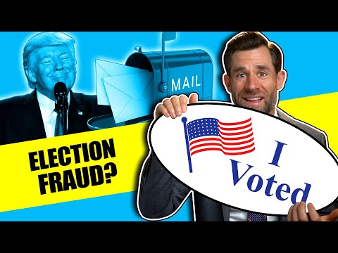 The Truth About Voting By Mail & Election Fraud | LegalEagle's Real Law Review