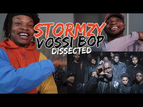 STORMZY – VOSSI BOP – REACTION/DISSECTED