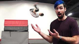 Parkour & Gymnastics Challenge (Insane Power Tricks)
