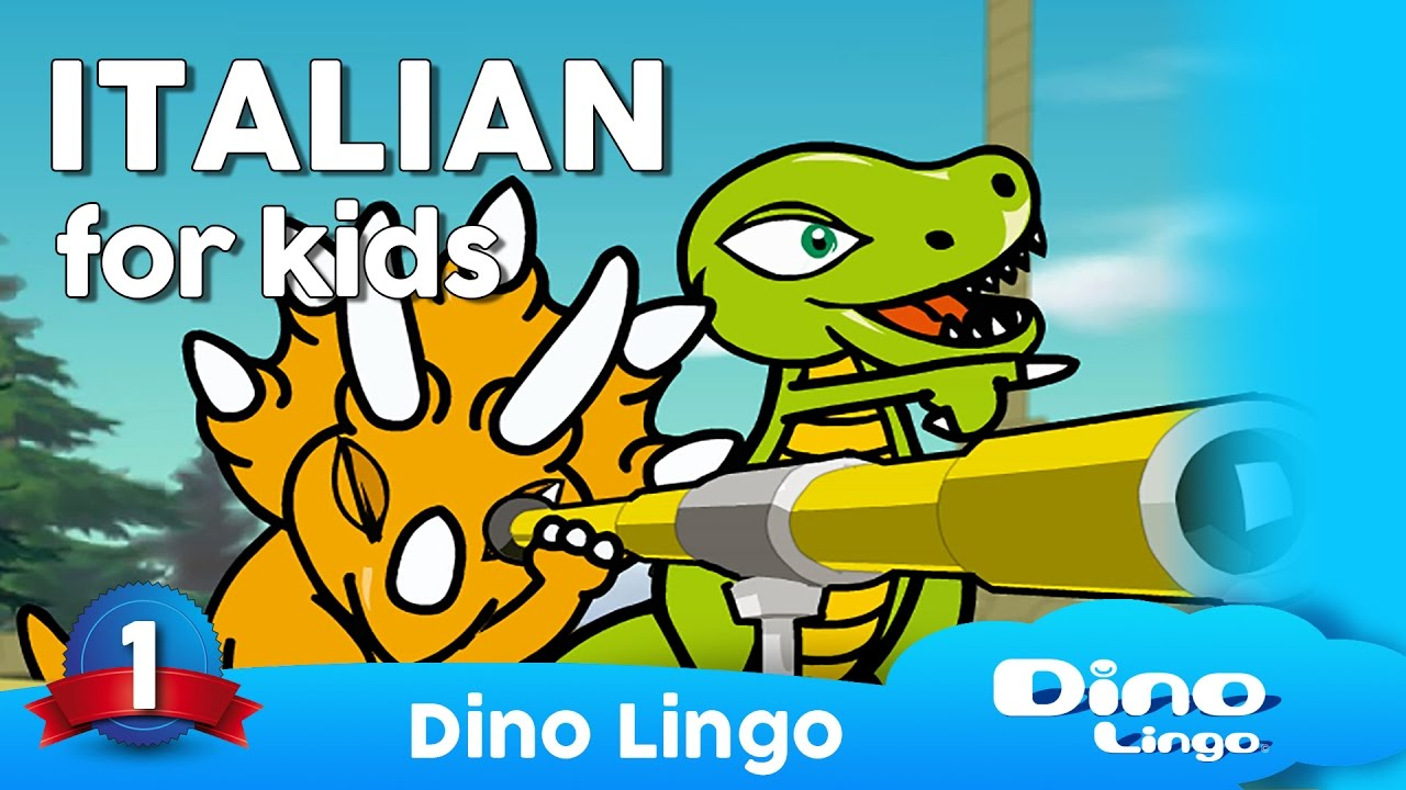 English In Italian: Learn Italian For Kids