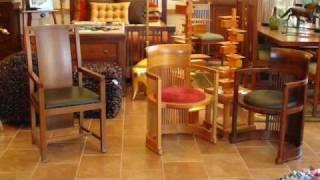 Af Frank Lloyd White Copeland Boynton Chair