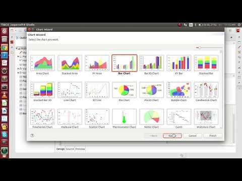 How To fill data in Bar chart In jasper report?