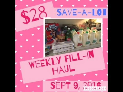 $28 Weekly Fill-in Haul (save-a-lot) - YouTube - save a lot flyer
