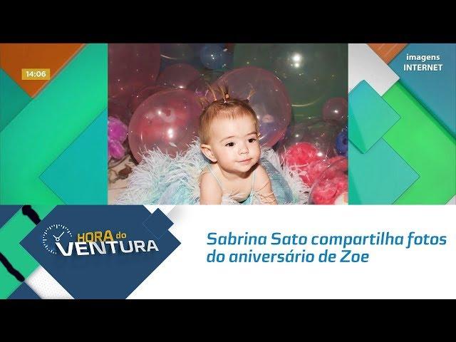 Sabrina Sato compartilha fotos do aniversário da pequena Zoe - Bloco 01