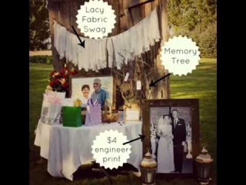 Diy decorating ideas for wedding anniversary youtube for At home wedding decoration ideas
