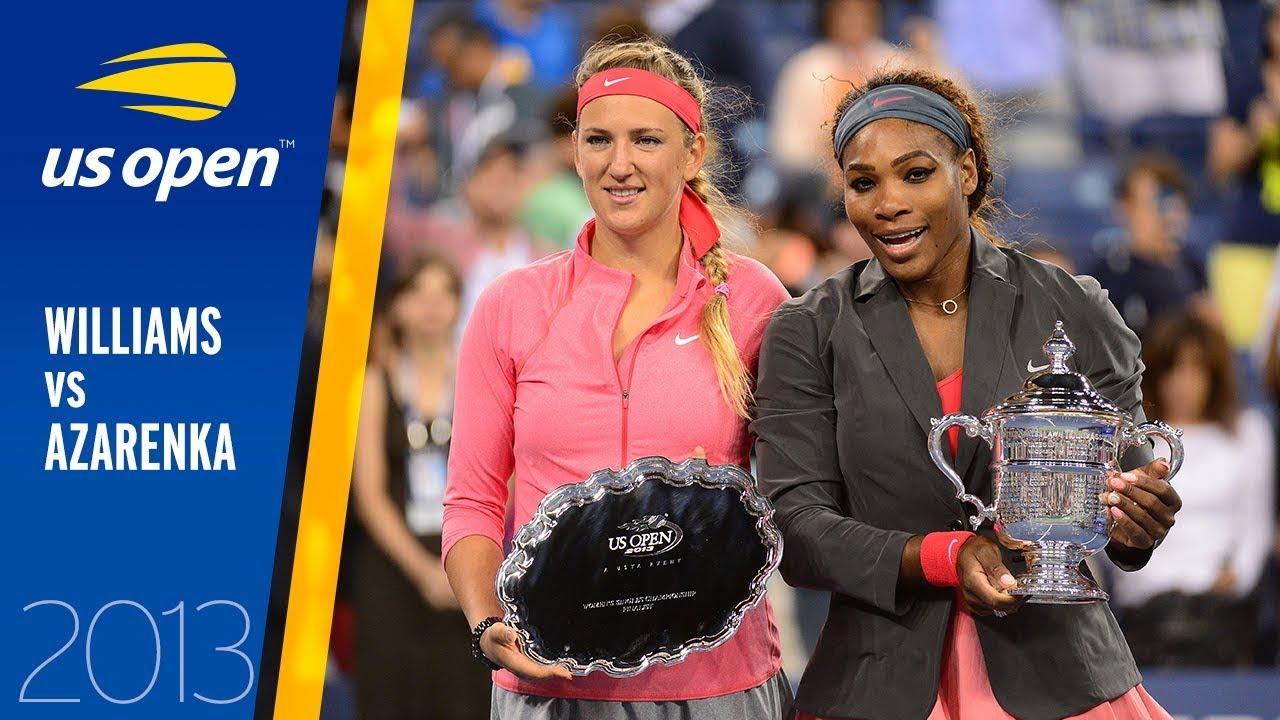 Serena Williams vs. Victoria Azarenka | 2013 US Open Final | Full Match image