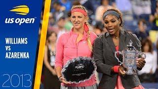 Serena Williams vs. Victoria Azarenka | 2013 US Open Final | Full Match