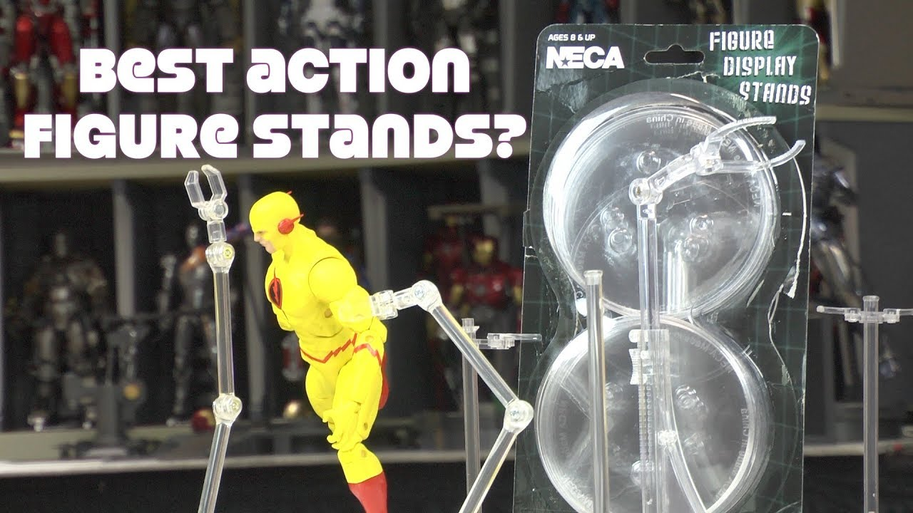 """1//6 inch Scale Display Stand Holder fit for 12/"""" Action Figures Body Clear"""