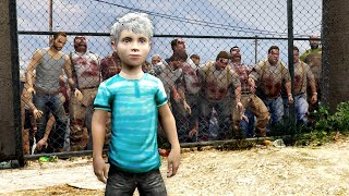 GTA 5 - PLA¥ING as a KID in a ZOMBIE Outbreak!