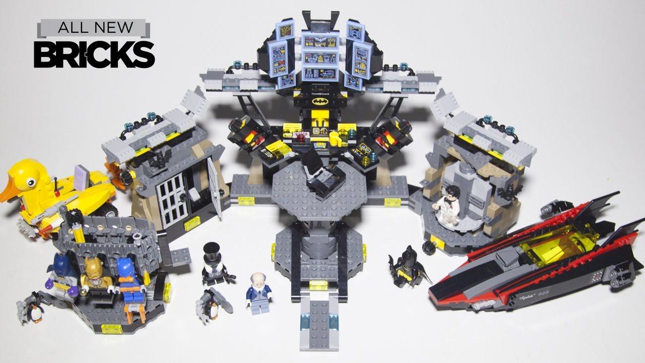 Lego Batman Movie 70909 Batcave Break In Speed Build Youtube
