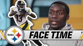James Washington on His Rookie Season, His Relationship with Ben Roethlisberger   Steelers Face Time