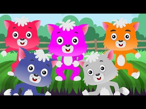 Five Little Kittens - Popular #NurseryRhymes Collection I Children Songs I Kids Songs