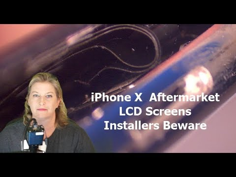 IPhone X Aftermarket LCD Screens--Are They Safe?