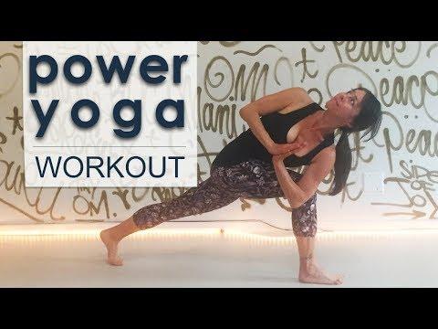 Mindful Vinyasa Yoga Workout