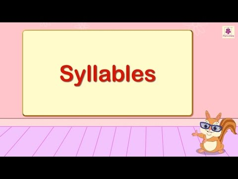 Syllables For Kids  | English Grammar | Grade 2 | Periwinkle