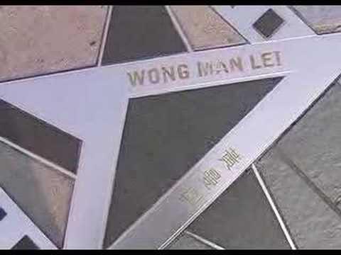 Walking along The avenue of stars @ KowLoon HongKong