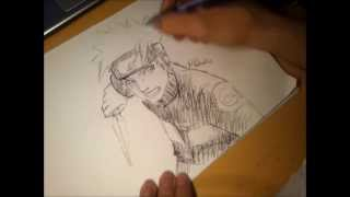 drawing Naruto in 10min by JayDee738