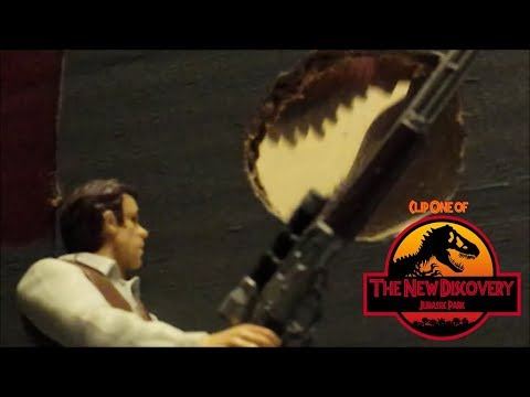 The New Discovery: Jurassic Park (Toy Movie REMAKE) Clip #1