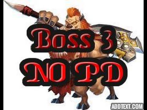 Castle Clash Boss 3 Without PD