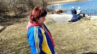 рыбалка на Исетском озере Взяла щука на1 кг на мормышку