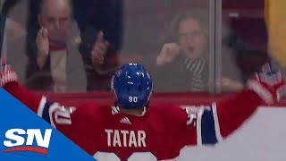 Tomas Tatar Scores With 39 Seconds Left To Force OT Vs. Blue Jackets