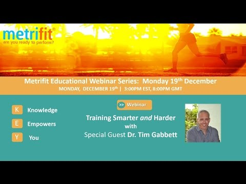 Training Smarter AND Harder with Dr  Tim Gabbett