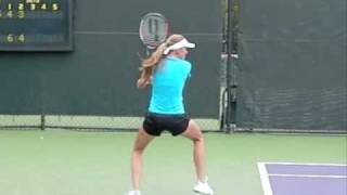 Daniela Hantuchova slow motion Forehand and Backhand ダニエラハンチュコバ 検索動画 8