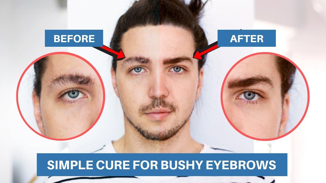 Done men getting eyebrows Men grooming
