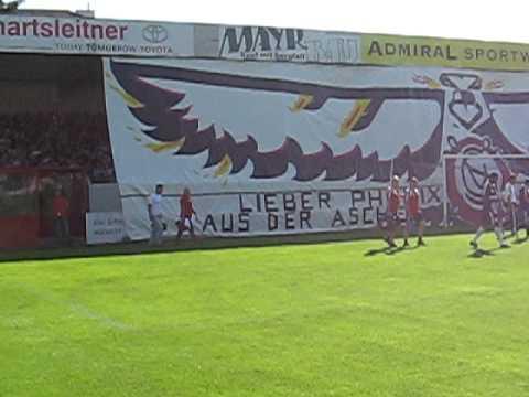 Choreo - Sk Vorwärts Steyr : Red Bull Salzburg