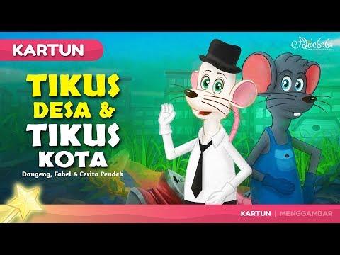 TIKUS DESA DAN TIKUS KOTA Kartun Anak Cerita2 Dongeng Bahasa Indonesia - Cerita Untuk Anak Anak