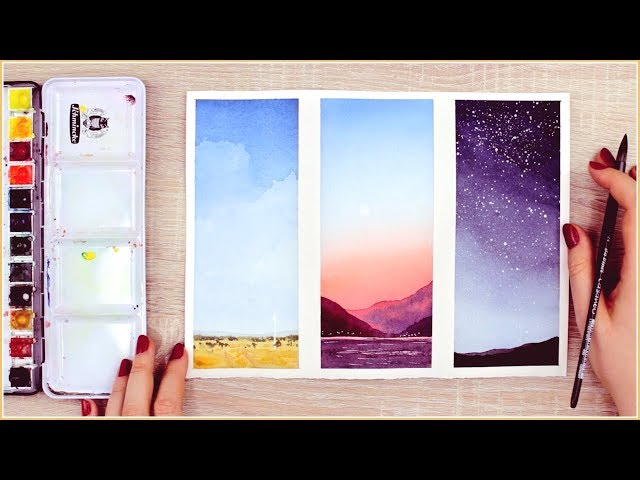 Easy Watercolor Painting Ideas for Beginners Step by Step