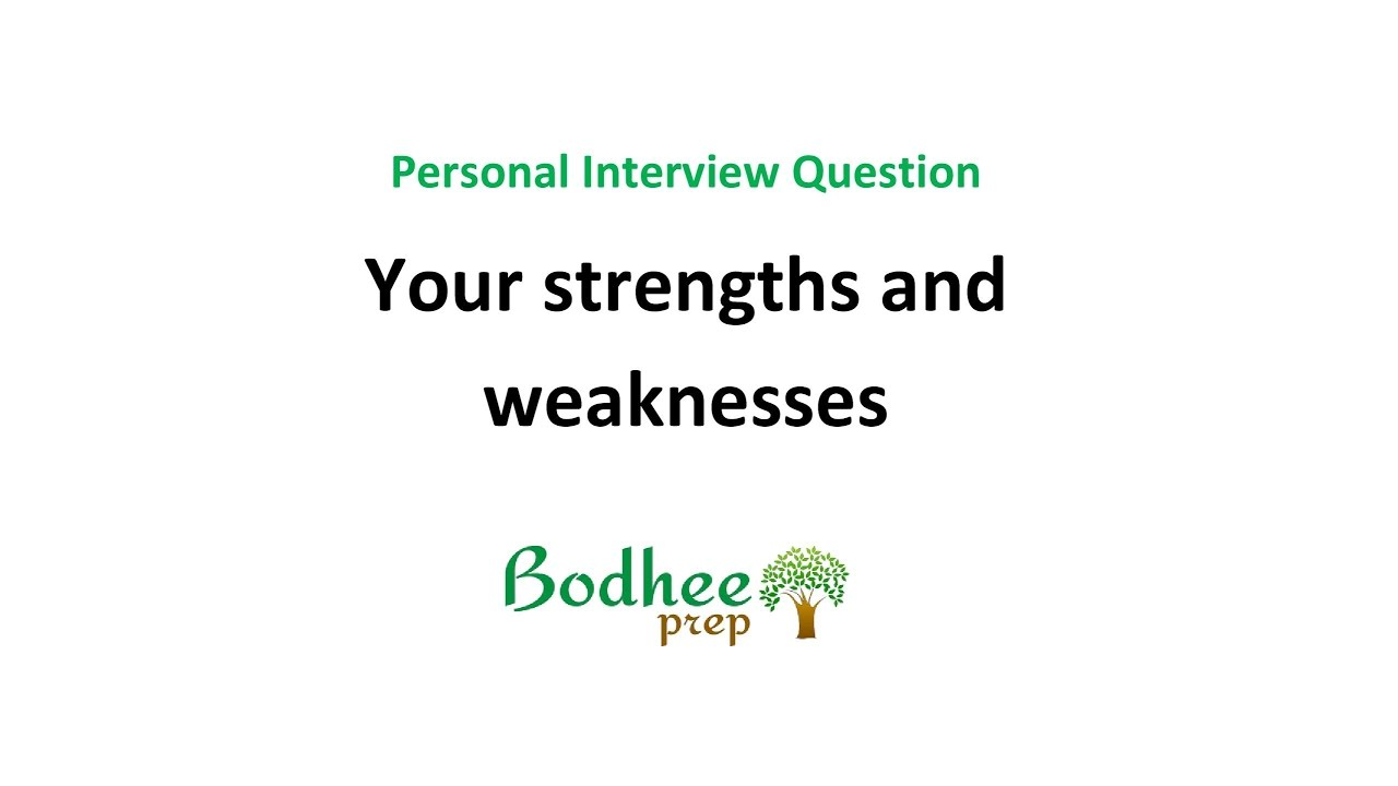 what are your strengths and weaknesses examples thevillas co