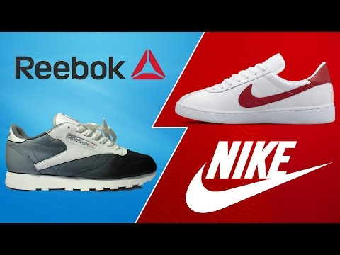 i lager grossistpris stor rabatt Reebok or Nike? - YouTube