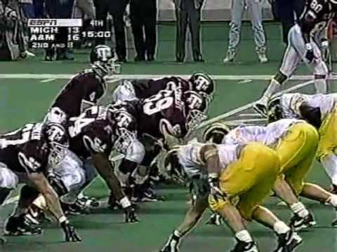 1995 Alamo Bowl #14 Michigan vs. #18 Texas A&M