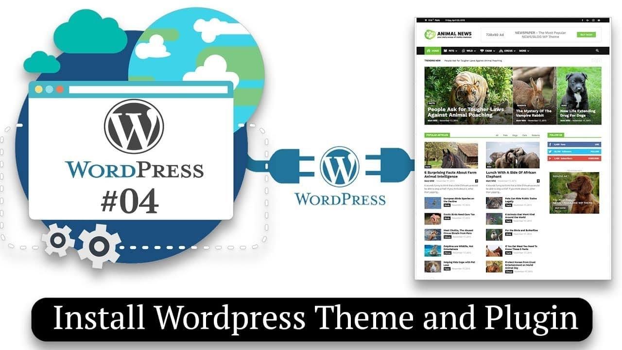 How To Install Wordpress Theme And Plugin (WordPress) Part 2