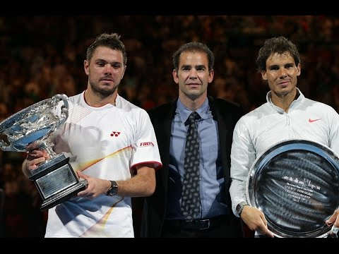 Stanislas Wawrinka VS Rafael Nadal Highlight Australian Open 2014 Final