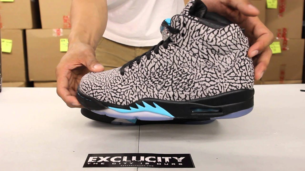 24dfd6c7b624 Air Jordan 3Lab5 Cement Grey - Gamma Blue Unboxing Video at Exclucity