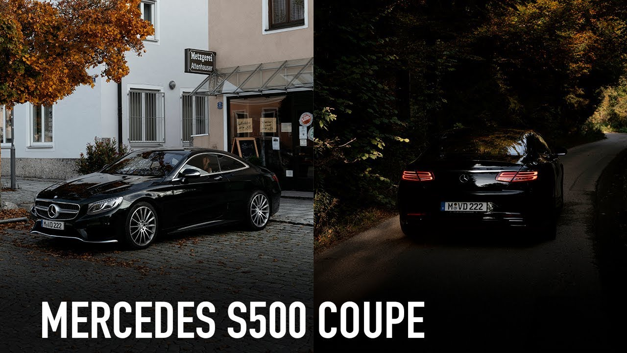 Mercedes-Benz S500 Coupe /// Автомобили из Германии